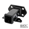 "Quick Products QP-HS5839 Bolt-On Receiver Tube - 2"", Black"