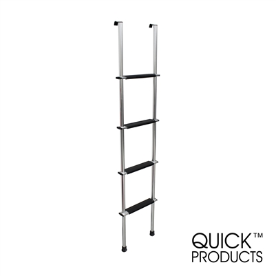 "Quick Products QP-LA-466S RV Bunk Ladder, 66"" - Silver"