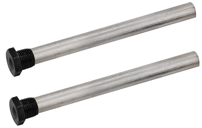 "Quick Products QP-MAR9.5-2PK Magnesium Anode Rod for Atwood 10 Gal Water Heaters (Repl 11593) – 9.5"", 1/2"" NPT, 2-Pack"