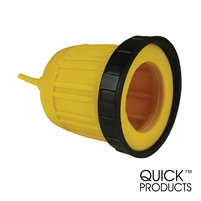 Quick Products QP-RV062 Waterproof Boot with Threaded Ring - 30 Amp