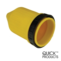 Quick Products QP-RV067 Waterproof Boot with Threaded Ring - 50 Amp