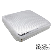 Quick Products QP-RVIR RV Vent Insulator with Reflective Cover