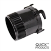 Quick Products QP-RWOA3 RV Waste Outlet Adapter - 3""