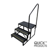 Quick Products QP-S5W2S Economy 5th Wheel Stair - 3-Step