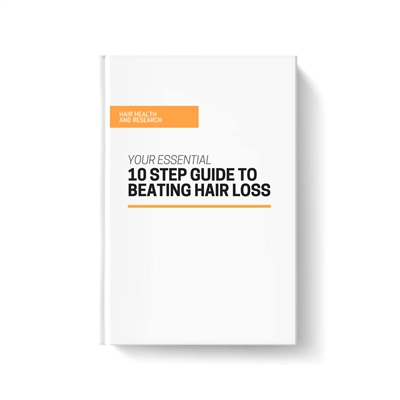 10 Step Guide To Beating Hair Loss eBook