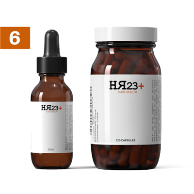 HR23+ Supplement & Serum Six Pack