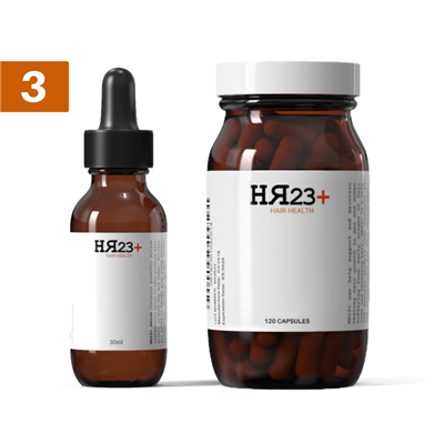HR23+ Supplement & Serum Triple Pack