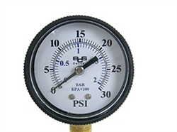 CO2 Pressure Gauge 30 psi