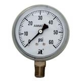 CO2 Pressure Gauge 60 psi