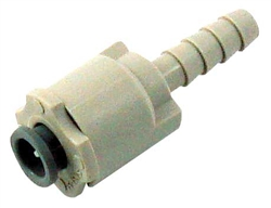 Tubing Adapter Quick Disconnect 5/32in barb/nut