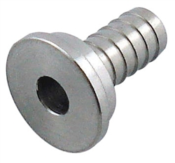 "Faucet Shank Hose Tail 1/4"" SS"