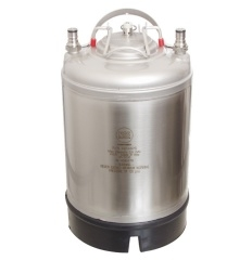 Ball Lock Keg 2.5 gal Single Handle