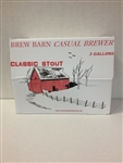 Stout 3 gal Casual Brewer beer kit