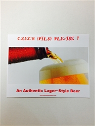 Czech Pilsner Lager Beer Kit