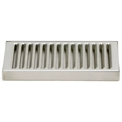 "Drip Tray 5"" X 8"" Stainless Steel"