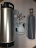 Complete Kegging System New Keg