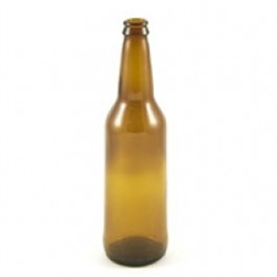 Beer Bottle Amber 12 oz 24/cs
