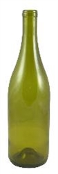 Bottle 750 ml Green Burgundy Punt 12/cs