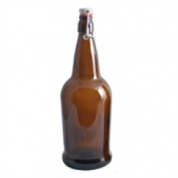 Bottle Amber Flipper 1 liter