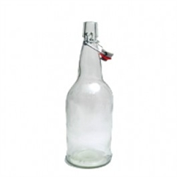 clear flipper bottles