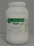 Five Star PBW Keg Glass cleaner 8 lbs