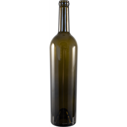 Bottles 750 ml Green Bordeaux Fancy Tapered