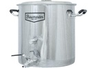 Brew Kettle Stainless Steel 8.5 Gal
