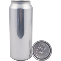 Aluminum Beer Can with Lid