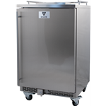 Commercial All Stainless Kegerator