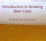 Intro to Brewing Beer Class