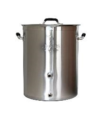 Brew Pot 32 QT w/Lid Beast 2 Port
