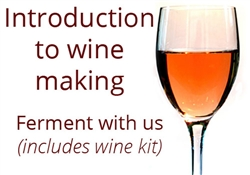 Intro to Wine Making Class with 6 gal Kit for 1