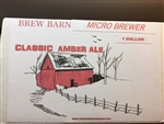 Micro Brewer Amber Ale 1 gal Beer Kit