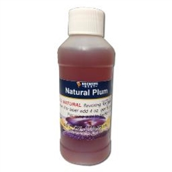 NATURAL PLUM FLAVORING EXTRACT 4 OZ