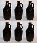 Growler Amber 64 oz w/Handle