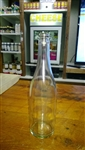 Champagne Bottle 750m Clear Flat