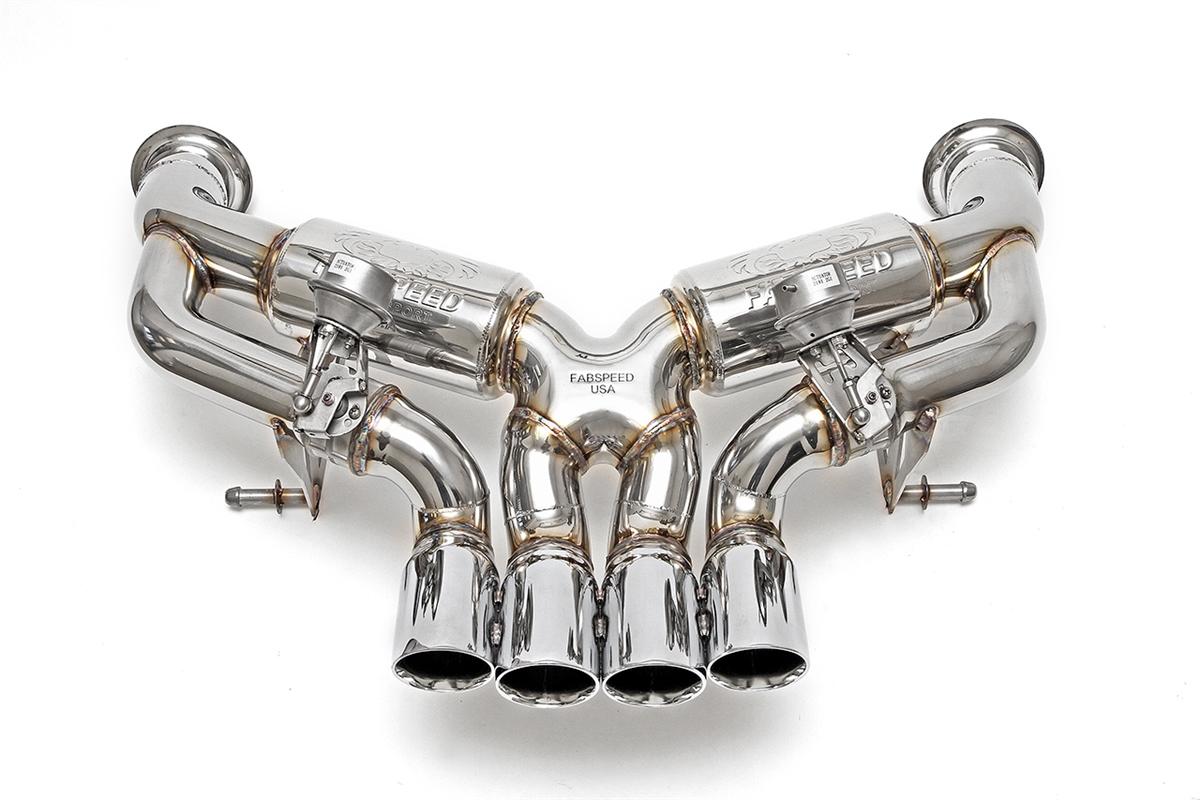 Fabspeed Lamborghini Aventador Supersport Exhaust System Evoms Evolution Motorsports