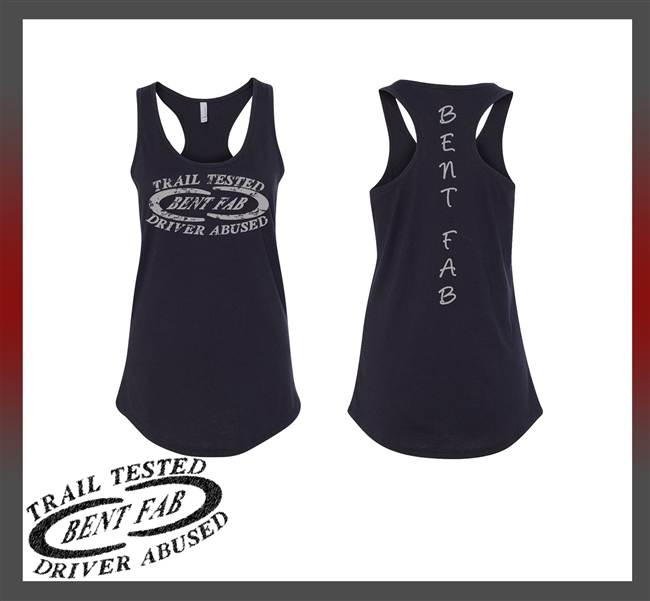 Women Tank Racerback Bent Fab Apparel