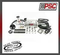 Full Hydraulic Steering Kit, 2007-11 Jeep JK 3.8L (35-42 Inch Tire Size)