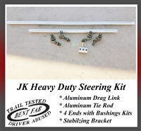 Heavy Duty Jeep JK Steering Kit