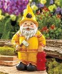 Novelty Fireman Gnome