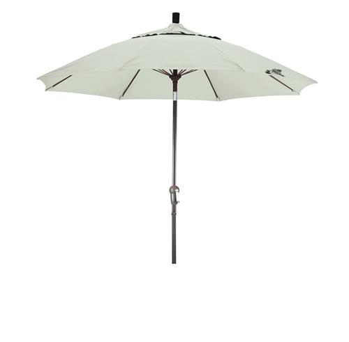 Lauren And Company 9 Aluminum Umbrella With Olefin Fabric