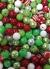 Christmas 12MM Beads (Pack of 10)