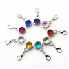 Gemstone Multi Pack of 10 Charms