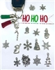 Metal Christmas Charms Multi Pack of 10
