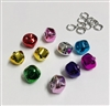 Metal Jingle Bells Charms Pack of 10