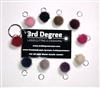 Pom Pom Puff Balls Pack of 10 Charms (No Hardware)