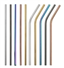 Reusable Stainless Steel Drinking Straw 8.5 Inch