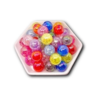 Cracked 20MM Beads (Pack of 3)