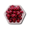 Buffalo Plaid Red 20MM Beads (Pack of 3)